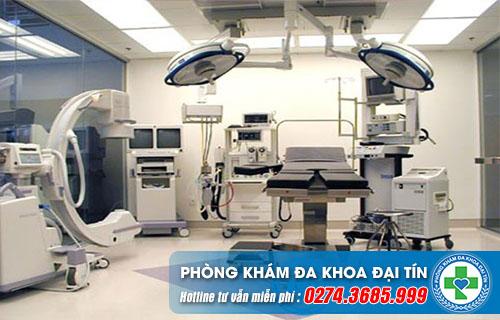 Trang thiết bị y khoa hiện đại hỗ trợ rất tốt cho việc chữa bệnh